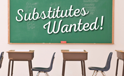 Substitutes Wanted