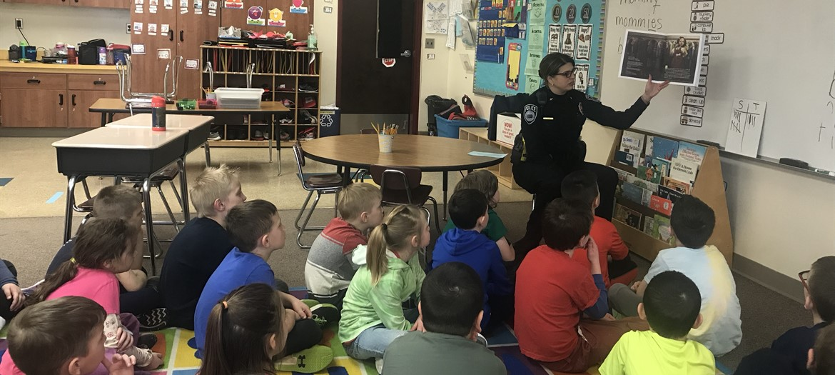 The Ionia County Literacy Council visits Oakwood during March Reading Month