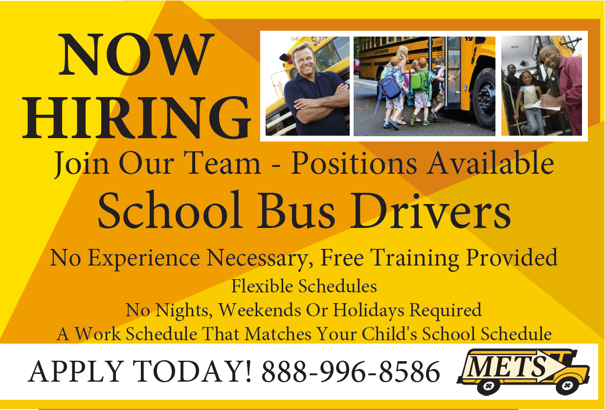 Bus Drivers Needed News